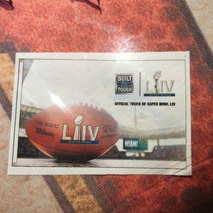 Super Bowl LIV banner